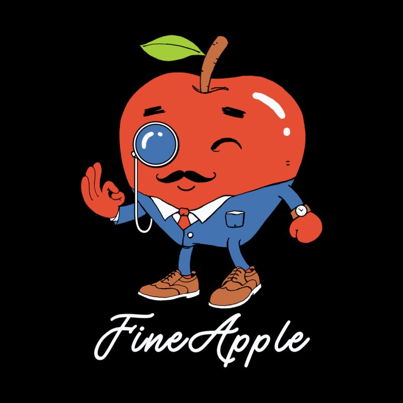 Fine Apple! Men's T-Shirt by Vincent Trinidad Art