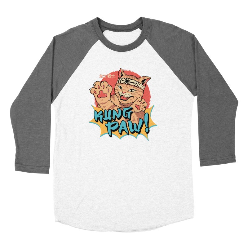 Kung Paw! Women's Longsleeve T-Shirt by Vincent Trinidad Art