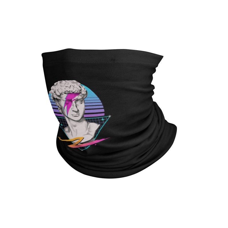 David Starman! Accessories Neck Gaiter by Vincent Trinidad Art