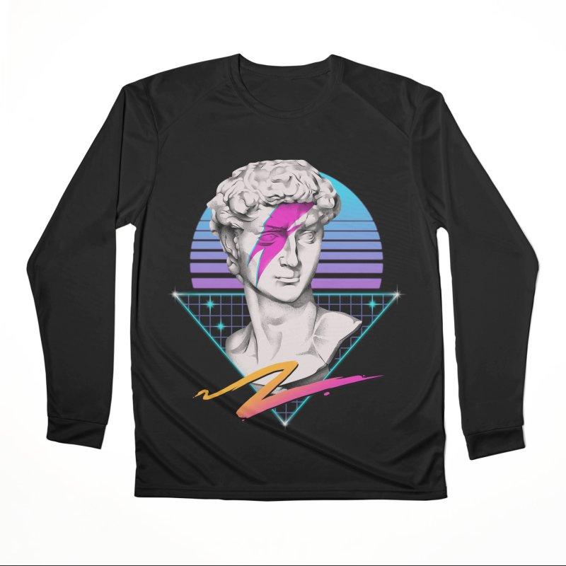 David Starman! Women's Longsleeve T-Shirt by Vincent Trinidad Art