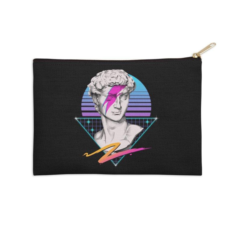 David Starman! Accessories Zip Pouch by Vincent Trinidad Art