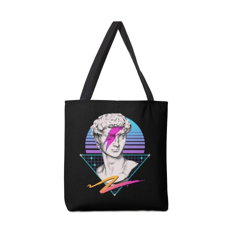 David Starman! Accessories Bag by Vincent Trinidad Art