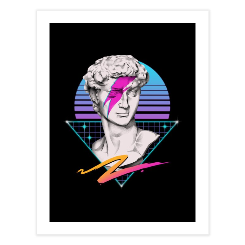 David Starman! Home Fine Art Print by Vincent Trinidad Art