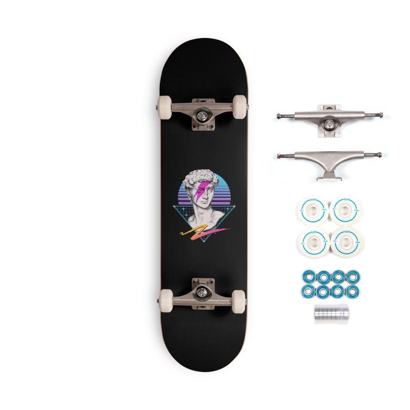 David Starman! Accessories Skateboard by Vincent Trinidad Art