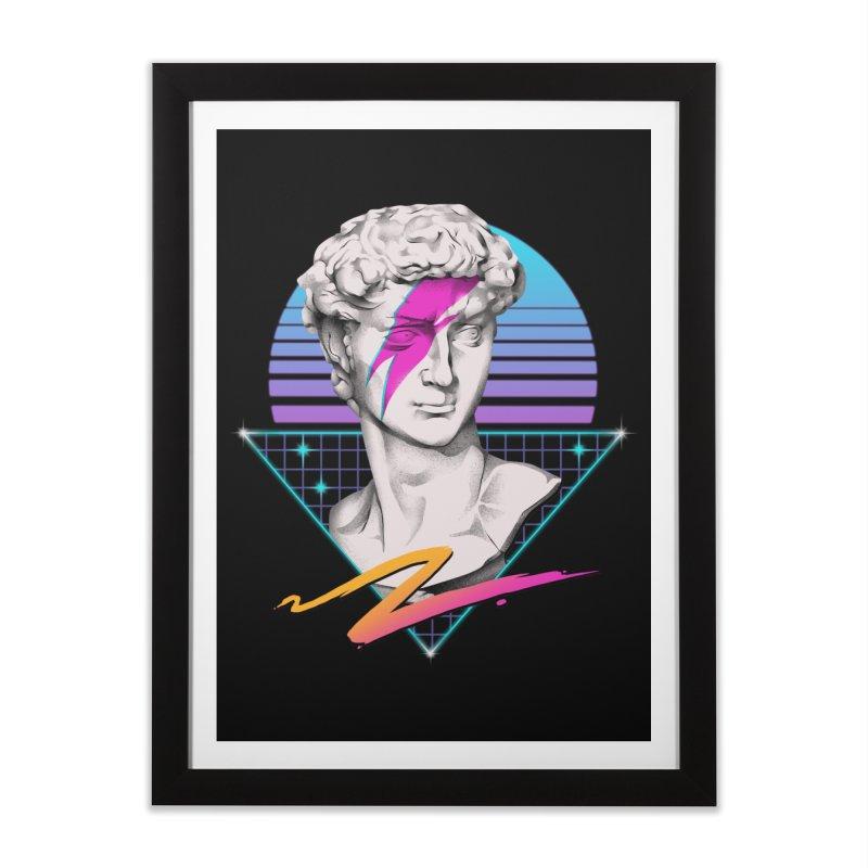 David Starman! Home Framed Fine Art Print by Vincent Trinidad Art