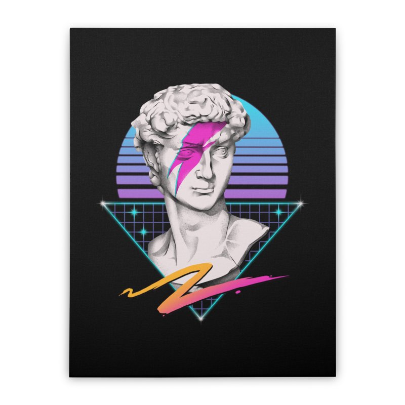 David Starman! Home Stretched Canvas by Vincent Trinidad Art