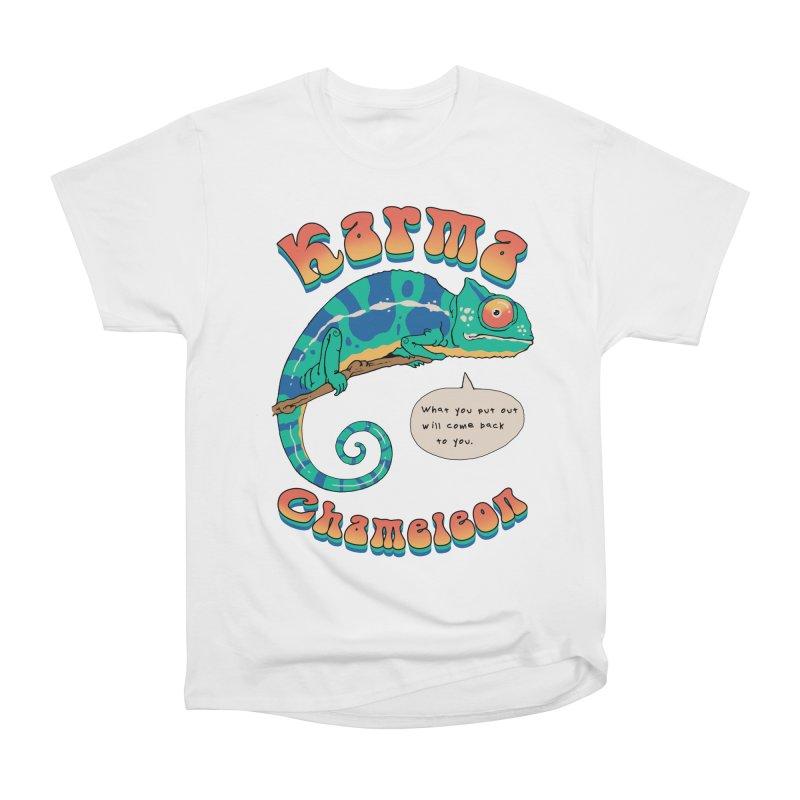 Cultured Chameleon Men's T-Shirt by Vincent Trinidad Art