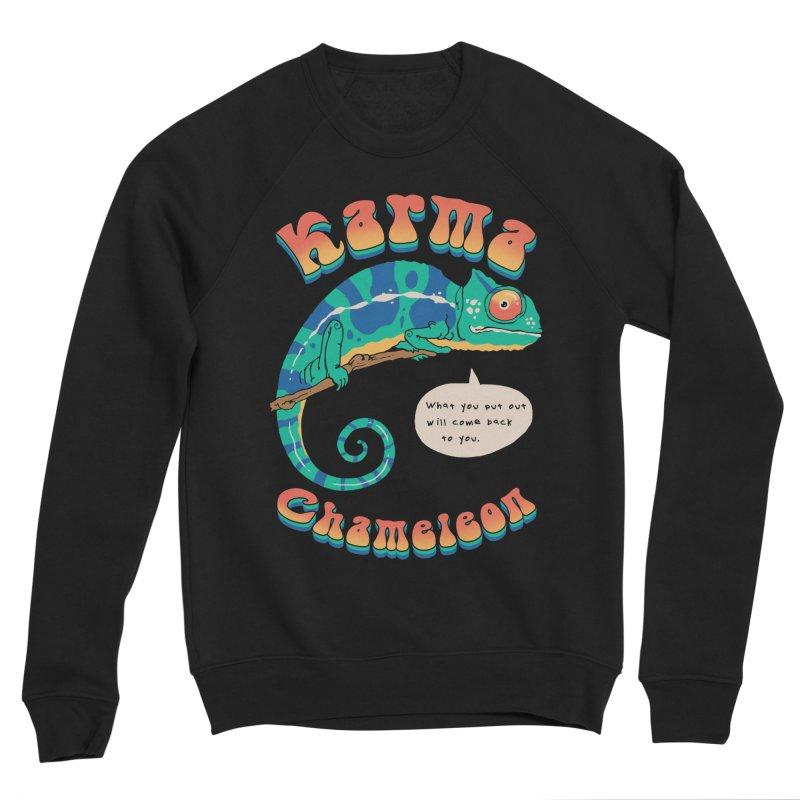 Cultured Chameleon Women's Sweatshirt by Vincent Trinidad Art