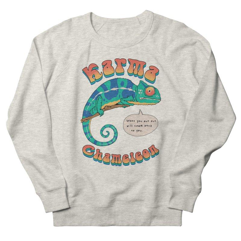 Cultured Chameleon Men's Sweatshirt by Vincent Trinidad Art