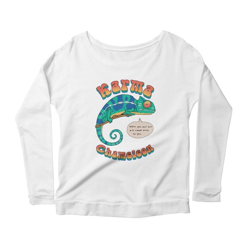 Cultured Chameleon Women's Longsleeve T-Shirt by Vincent Trinidad Art