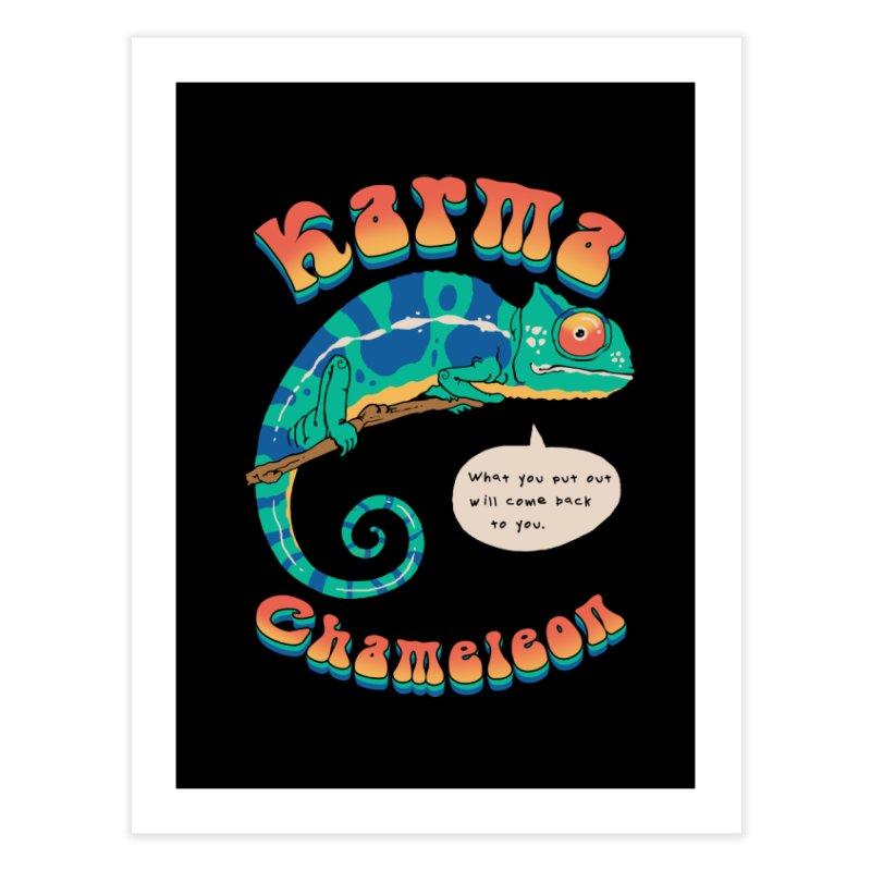 Cultured Chameleon Home Fine Art Print by Vincent Trinidad Art