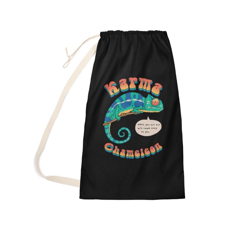 Cultured Chameleon Accessories Bag by Vincent Trinidad Art