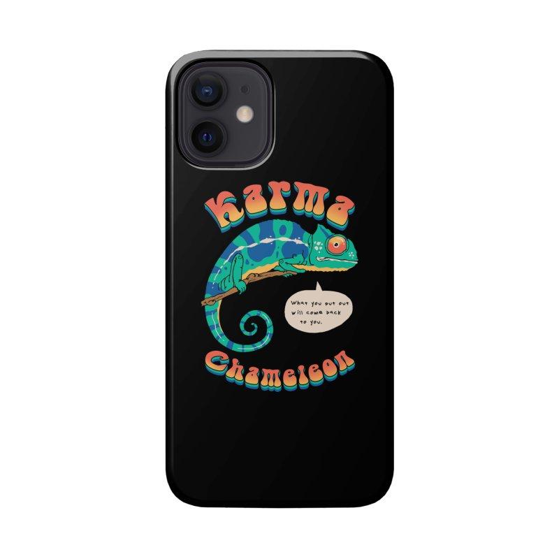 Cultured Chameleon Accessories Phone Case by Vincent Trinidad Art