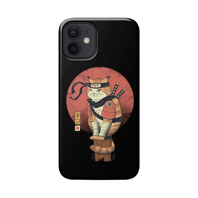 Shinobi Cat Accessories Phone Case by Vincent Trinidad Art