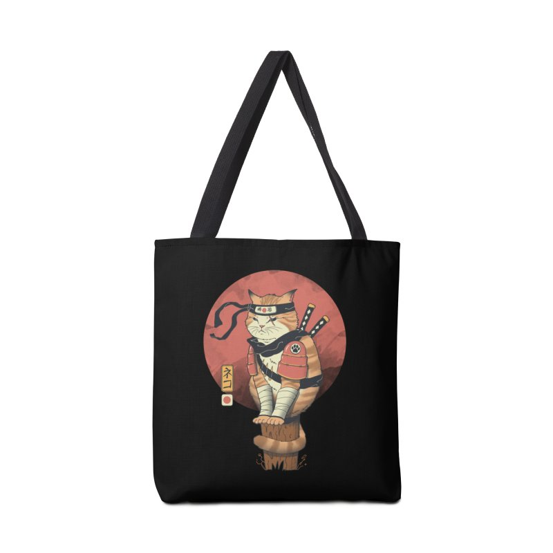 Shinobi Cat Accessories Bag by Vincent Trinidad Art