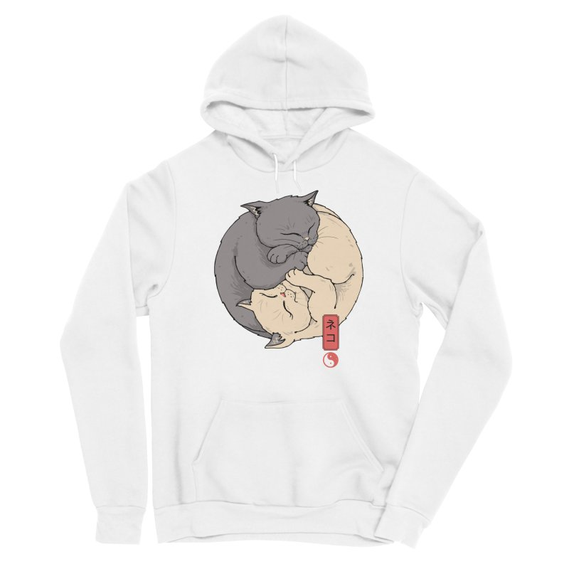 Yin Yang Cats Women's Pullover Hoody by Vincent Trinidad Art