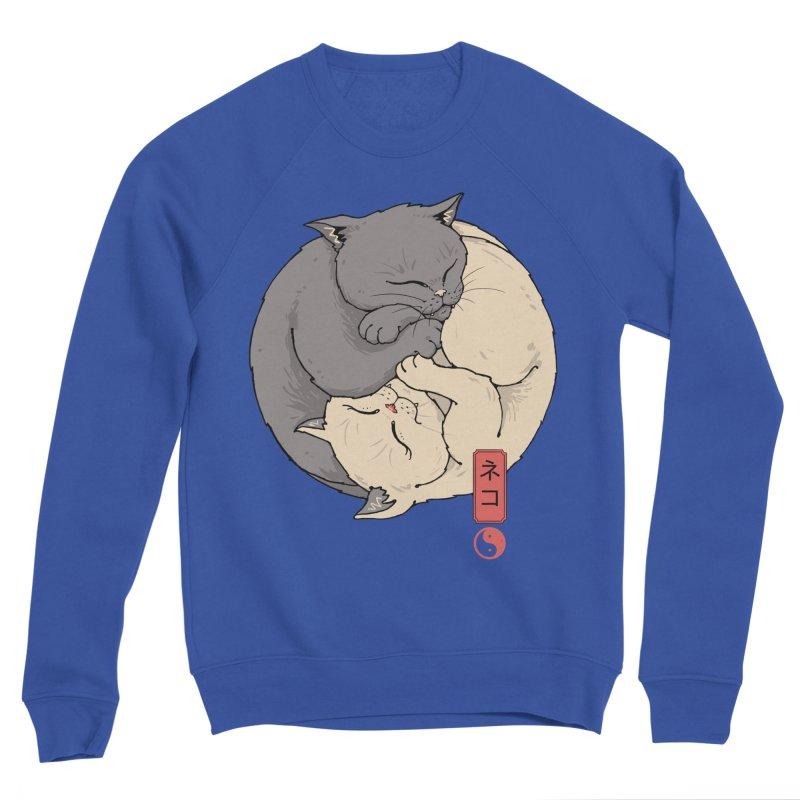 Yin Yang Cats Women's Sweatshirt by Vincent Trinidad Art