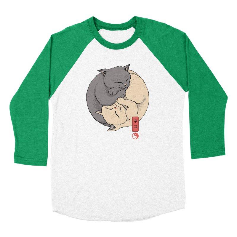 Yin Yang Cats Men's Longsleeve T-Shirt by Vincent Trinidad Art