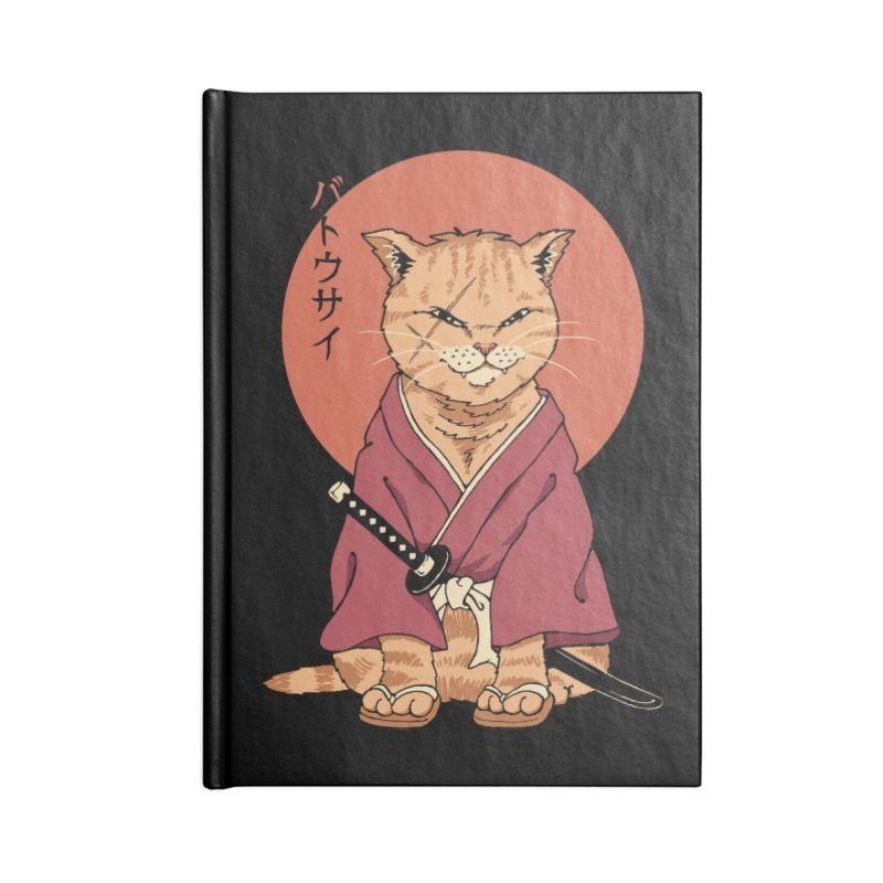 Neko Battousai Accessories Notebook by Vincent Trinidad Art