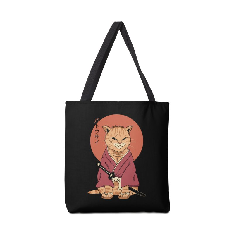 Neko Battousai Accessories Bag by Vincent Trinidad Art