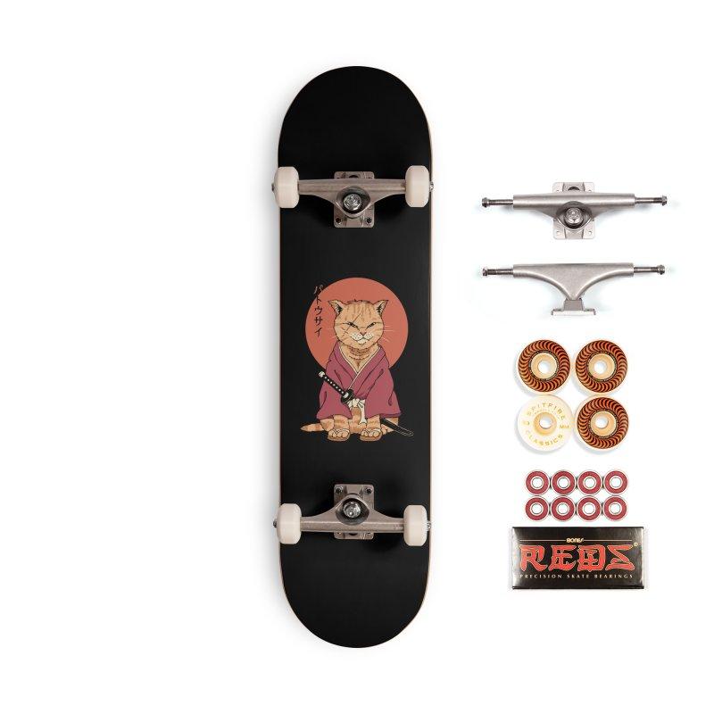 Neko Battousai Accessories Skateboard by Vincent Trinidad Art