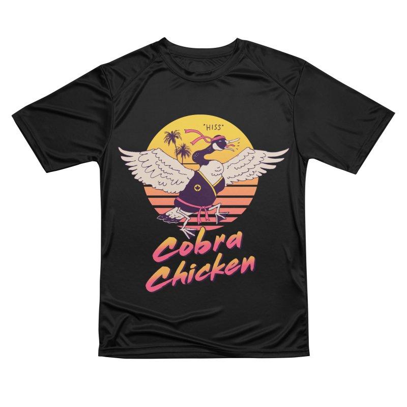 Cobra Chicken! Men's T-Shirt by Vincent Trinidad Art
