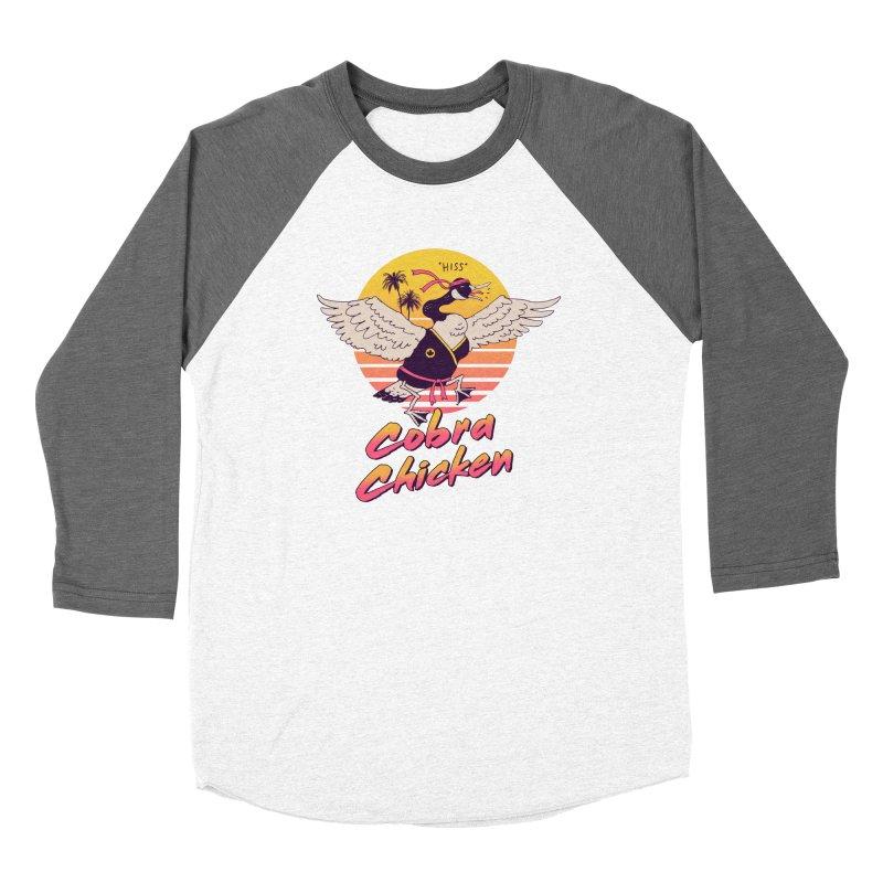 Cobra Chicken! Women's Longsleeve T-Shirt by Vincent Trinidad Art
