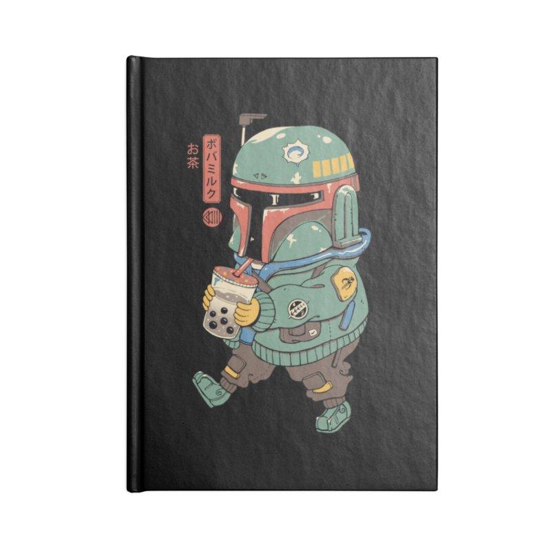 BounTea Hunter Accessories Notebook by Vincent Trinidad Art