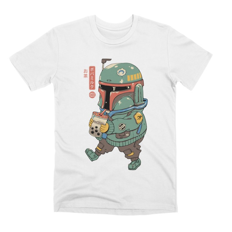 BounTea Hunter Men's T-Shirt by Vincent Trinidad Art