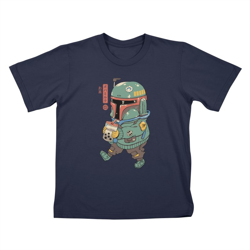BounTea Hunter Kids T-Shirt by Vincent Trinidad Art