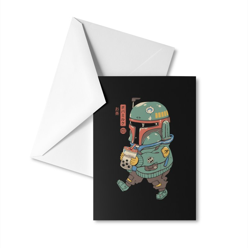 BounTea Hunter Accessories Greeting Card by Vincent Trinidad Art