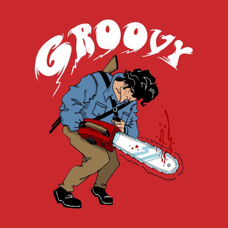Groovy Men's T-Shirt by Vincent Trinidad Art