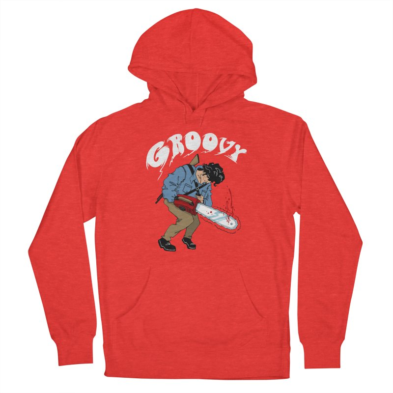Groovy Men's Pullover Hoody by Vincent Trinidad Art