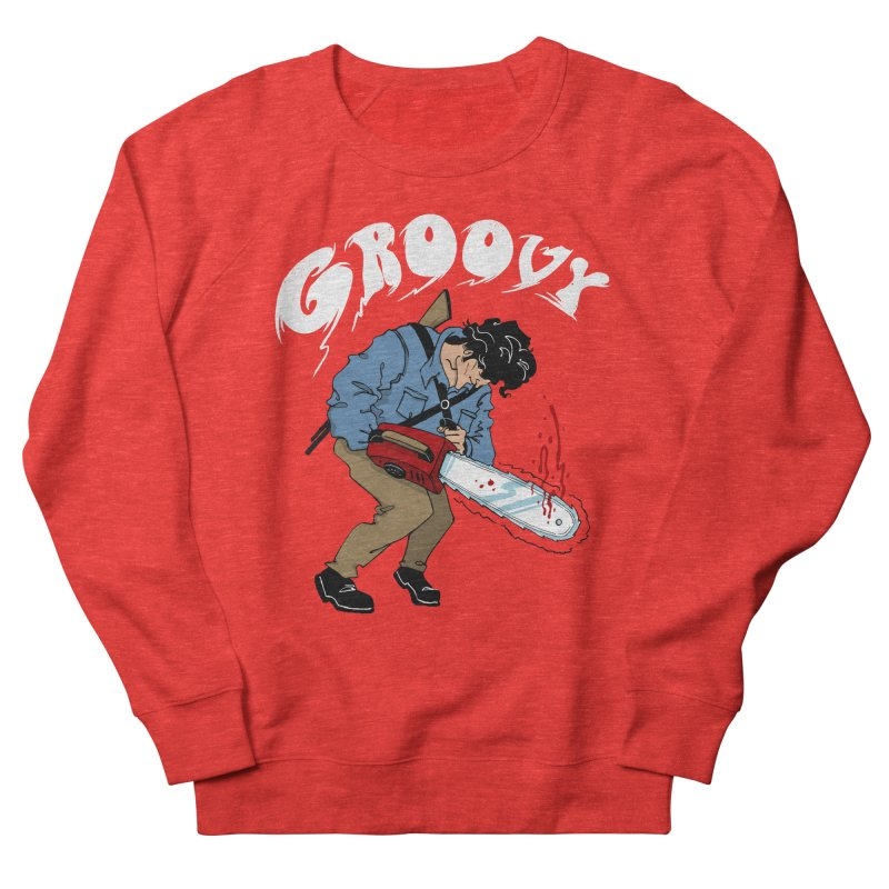 Groovy Men's Sweatshirt by Vincent Trinidad Art