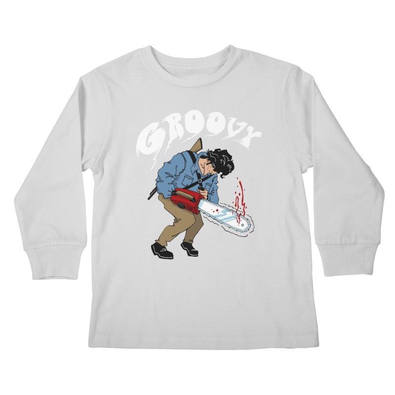 Groovy Kids Longsleeve T-Shirt by Vincent Trinidad Art