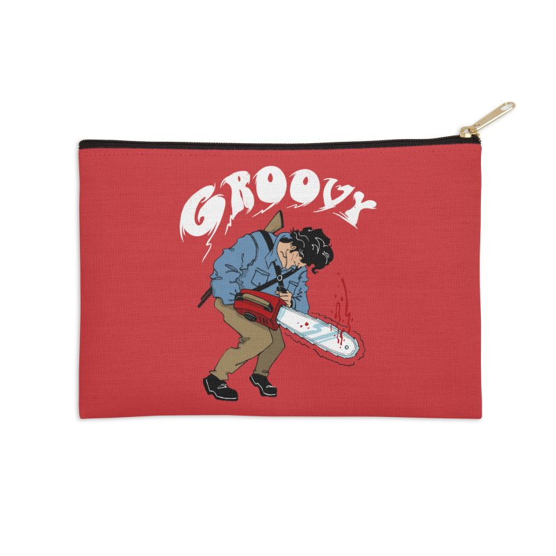 Groovy Accessories Zip Pouch by Vincent Trinidad Art
