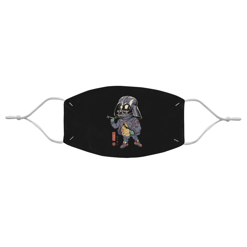 Darts Vader Accessories Face Mask by Vincent Trinidad Art