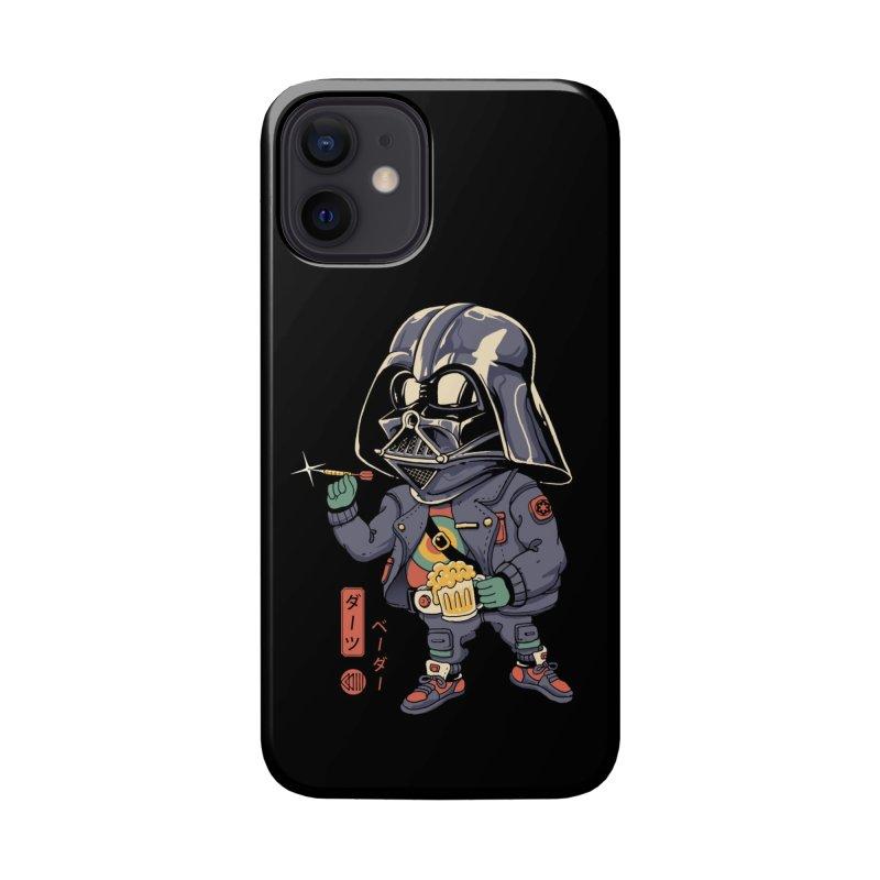 Darts Vader Accessories Phone Case by Vincent Trinidad Art