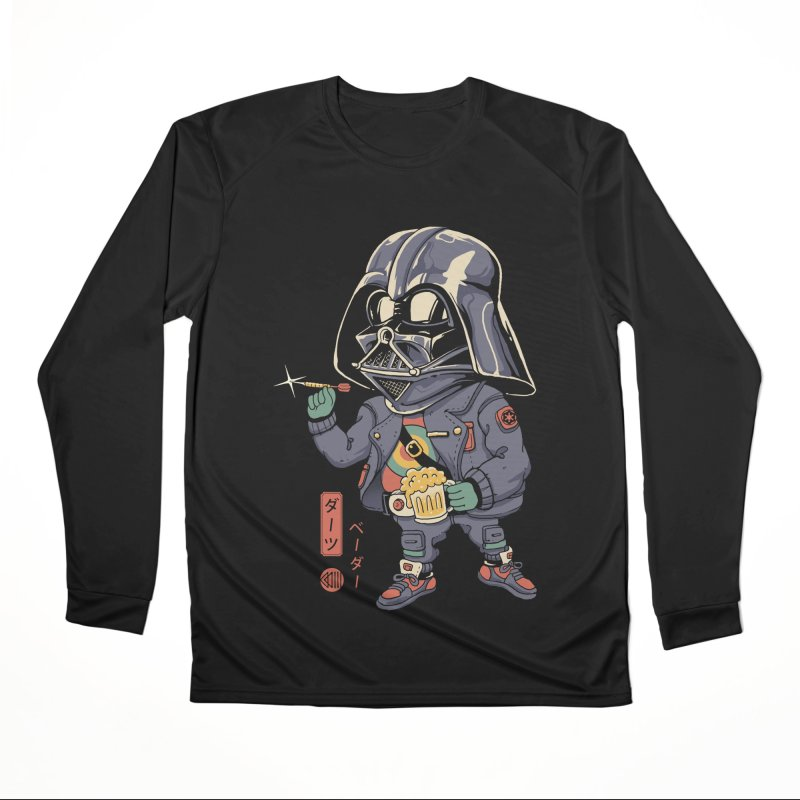 Darts Vader Women's Longsleeve T-Shirt by Vincent Trinidad Art