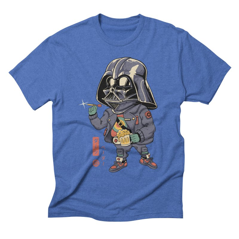Darts Vader Men's T-Shirt by Vincent Trinidad Art