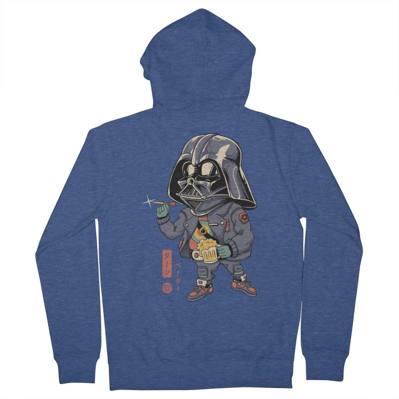 Darts Vader Men's Zip-Up Hoody by Vincent Trinidad Art