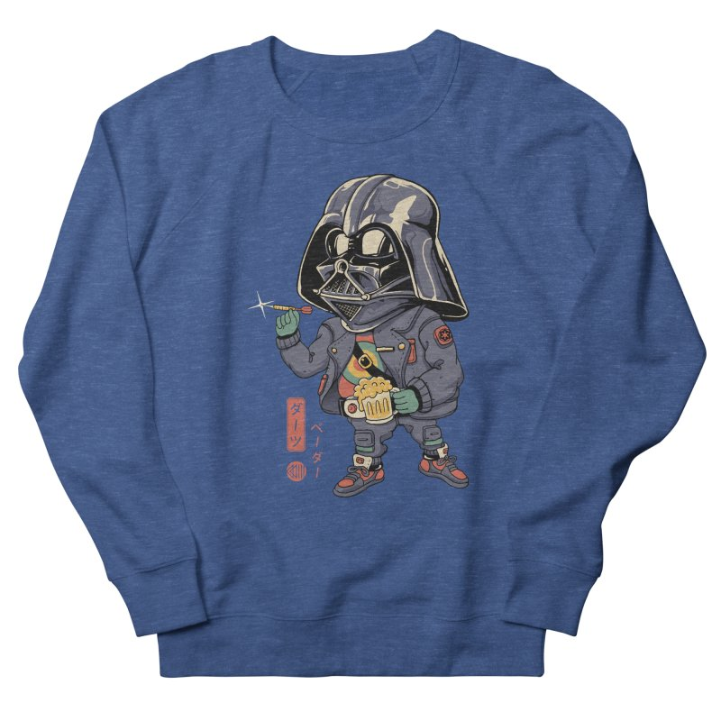 Darts Vader Men's Sweatshirt by Vincent Trinidad Art