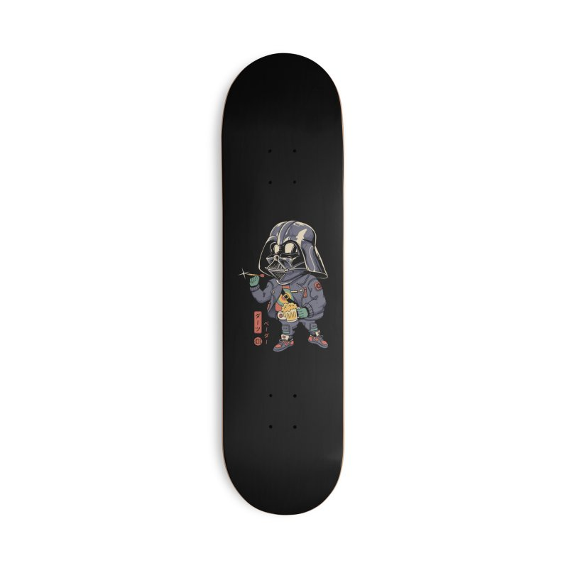 Darts Vader Accessories Skateboard by Vincent Trinidad Art