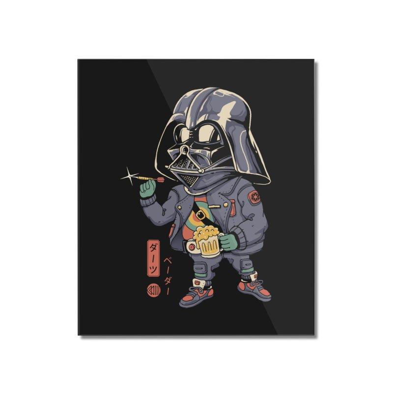 Darts Vader Home Mounted Acrylic Print by Vincent Trinidad Art