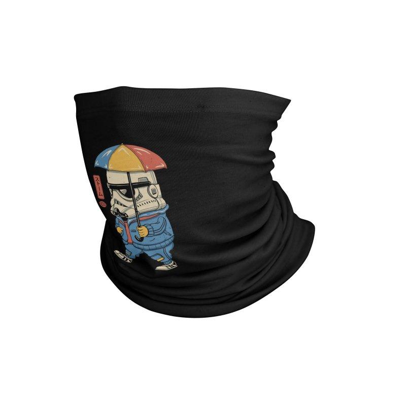 Bucket Head Accessories Neck Gaiter by Vincent Trinidad Art