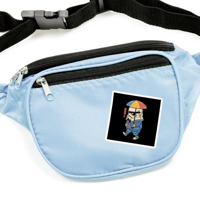 Bucket Head Accessories Sticker by Vincent Trinidad Art