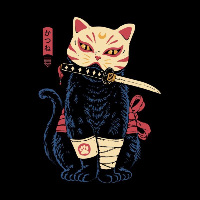 Catsune Men's T-Shirt by Vincent Trinidad Art