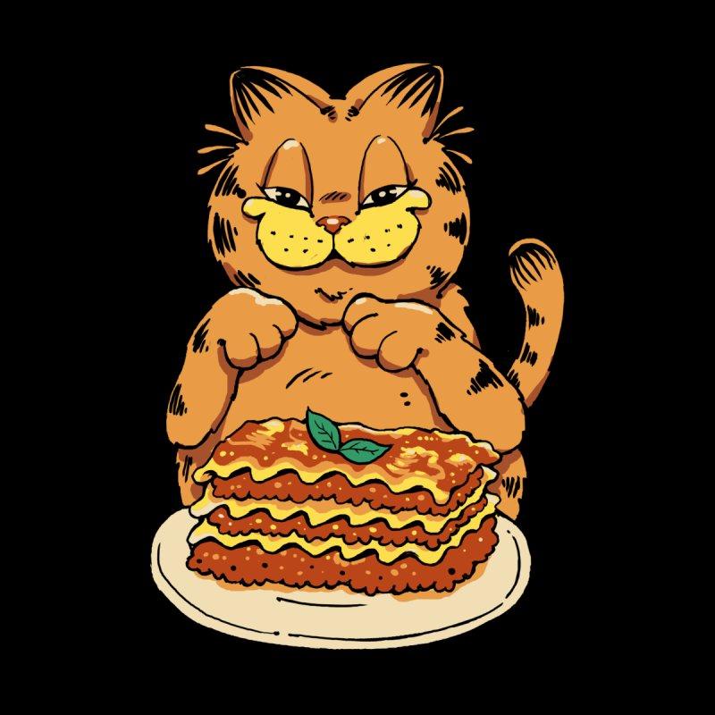 Lasagna Cat Accessories Mug by Vincent Trinidad Art