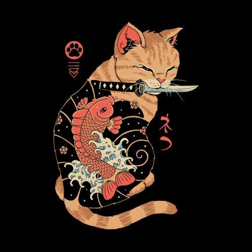 Design for Carp Tattooed Cat