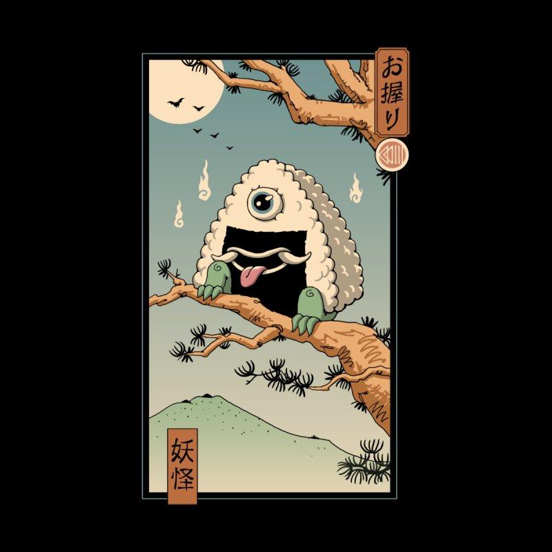 Yokai Onigiri in Edo Men's T-Shirt by Vincent Trinidad Art